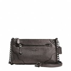 Practical Give People Its Good & Comfortable Smell Coach Outlet, Coach Handbags, Coach Bags, Small Leather Goods, Metallic Leather, Clutch Purse, Purses, Love, Leather Crossbody