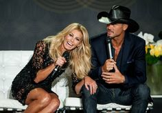 Tim McGraw and Faith Hill at the Venetian