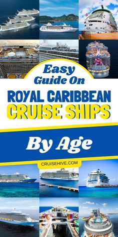 Royal Caribbean cruise tips with all the ships in the fleet by age. Covering all the different type cruise ships including the Oasis class. Royal Caribbean Oasis, Cruise Tips Royal Caribbean, Royal Cruise, Cruise Travel, Cruise Vacation, Shopping Travel, Family Cruise, Beach Travel, Patagonia