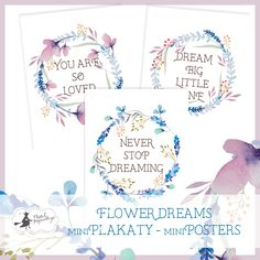 miniPlakaty / miniPosters - - Say hello to your creativity Say Hello, Dream Big, Scrapbooking, Bullet Journal, Creative, Collections, Paper, Scrapbooks, Memory Books