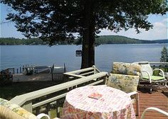 Lake Winnipesaukee Charming Waterfront Cottage! You will be delighted with this lovely vintage cottage located right off Meredith Neck Road at Cummings Cove! Captivating sunrise...breathtaking views and long summer days swimming in the pristine waters of Cummings Cove! (THO73W) Sleeps 8 pp, 3 bedrooms, 1.75 baths