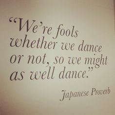 Dance Quotes ♡  www.theworlddances.com/ #dancequote #dance.