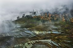 Breathtaking Landscape Photos Highlight the Beauty of China's Rice Field Terraces - My Modern Met