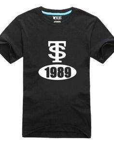 Taylor Swift 1989 album t shirt for men short sleeve-