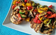 Sezon na grilla: Kurczak/schab pod pierzynką z grillowanych warzyw