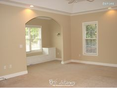 """Sherwin Williams """"Macadamia - would love to paint my living room this color.  :)"""