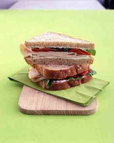 See our Turkey Sandwich with Ricotta, Red Peppers, and Arugula galleries