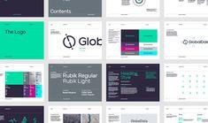 GlobalData – Branding – Brand Guidelines - Steve Edge Design Brand Guidelines Design, Brand Identity Design, Corporate Design, Branding Design, Identity Branding, Visual Identity, Corporate Identity, Creative Design Agency, Brand Manual