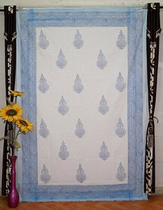 "Indian Block Print Tapestry Cotton Bedspread 90"" x 60"" Qu... https://www.amazon.com/dp/B01GOB3EHY/ref=cm_sw_r_pi_dp_x_aLGGyb3HMN0X1"