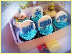 #cupcake #lima #peru #abeja #marinero
