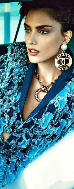 Nathalia Novaes by Francesco Carrozzini for Vogue