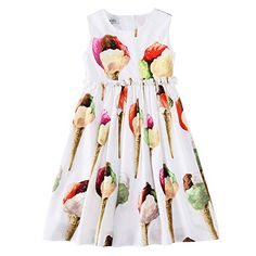 WLMONSOON Girls Ice Cream Print Princess Party Dress Kids SummerSize 412Y  6T    Details can · Hercegnős PartiEstélyi Ruha a7e5a272bd