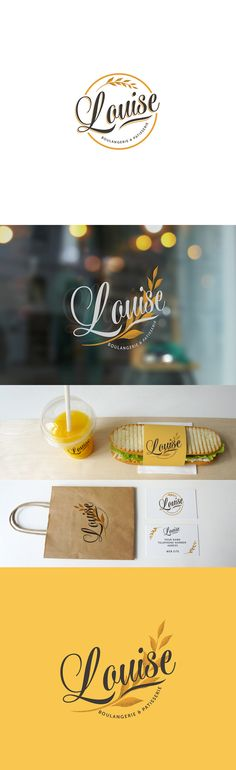 Louise Patisserie Branding on Behance                                                                                                                                                                                 More