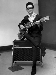 Roy Orbison - Iconic Songwriter/Singer/Guitarist.