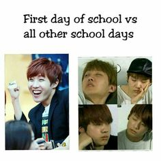 P sure im like that on the 1st day of school to tho