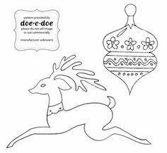 doe-c-doe: oh deer...Christmas embroidery  transfers