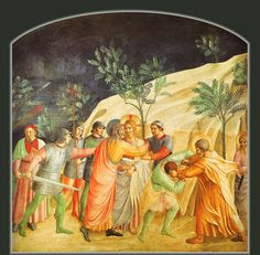 Convent of San Marco - Florence. Fra Angelico - The Kiss of Judas.