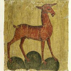 Fahne (profan). Totenfahne des Grafen Walraff von Thierstein, gest. 1427. Seidentaffet, bemalt. 1400 - 1500. Masse Fahnenblatt: Höhe 94 cm, Breite 85 cm.