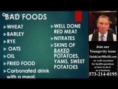 Dr  Peter Glidden explains the 10 Bad Foods