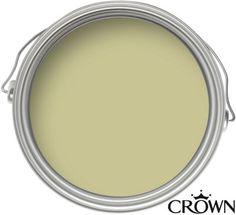 Crown Easyclean Olive Tropics - Matt Emulsion Paint - 2.5L | Homebase