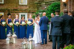 Navy + White Elegant Coastal Wedding at the Historic Rice Mill // Dana Cubbage Weddings // Charleston SC Wedding Photography