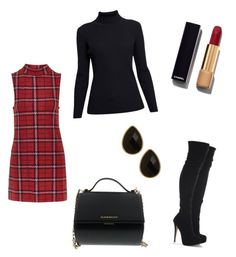"""Untitled #33"" by izzie-phillips on Polyvore featuring Topshop, Rumour London, Givenchy, Chanel and Natasha Accessories"