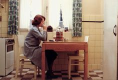 "The Director's Director: Chantal Akerman - The New York Times Delphine Seyrig in Chantal Akerman's film ""Jeanne Dielman, 23 Quai du Commerce, 1080 Bruxelles."""