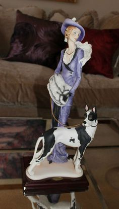 Capodimonte Giuseppe Armani My Fair Lady Great Dane Figurine Statue Limited Ed | eBay