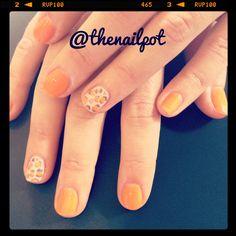 #shellac #leopardprint #nailart follow me on instagram for more ideas @thenailpot xx