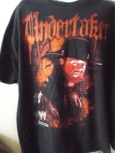 Wwe The  Undertaker OFFICIAL T- Shirt  Rare  Blood Drip Deadman 2XL XXL WWF by TheWrestlingBurn on Etsy