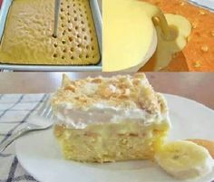 banana pudding cake...yum