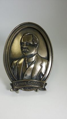 Gpo dublin 1916 commemoration plaque gpo bronze finish sculpture shop now for unique personalised handmade irish made gifts james connolly 1916 commemoration negle Images