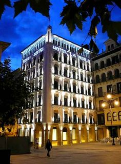 The best place is always a good hotel http://www.sanfermin.com/index.php/en/datos-practicos/dormir/hoteles-pamplona