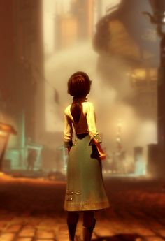 Elizabeth Comstock in Columbia. BioShock Infinite.