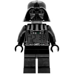 LEGO Star Wars Mini Darth Vader Alarm Clock by ClicTime (€25) ❤ liked on Polyvore featuring home, home decor, clocks, mini alarm clock, miniature clock, star wars home decor, snooze alarm clock and battery alarm clock
