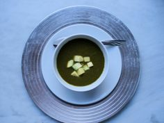 Kale Avocado Soup is a delicious and creamy soup perfect for winter!