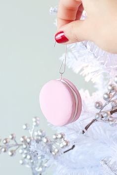 ADVENTURES IN FASHION: DIY || Clay Macaron Holiday Ornaments