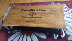 Read all about our Roxton refinishing project where we added custom typography, paint, and stain to old occassional tables. Coffee Table Redo, Coffee And End Tables, Occasional Tables, Hardwood Furniture, Project Ideas, Projects, Custom Fonts, Printer Paper, New Fonts