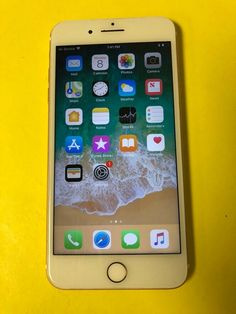 Apple iPhone 8 Plus - - Gold (Unlocked) (GSM) for sale online Buy Iphone, Iphone 8 Plus, Iphone Cases, Iphone Wallpaper Green, Whats On My Iphone, Apple Iphone 7 32gb, Iphone Layout, Phone Themes, Cars