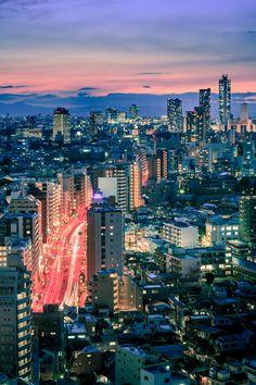 Tokyo 3424 by Holger Feroudj, via 500px