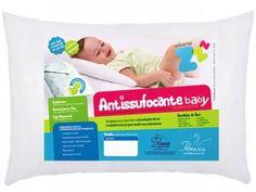 Travesseiro Infantil 30x40cm - Fibrasca Antissufocante com as melhores condições…