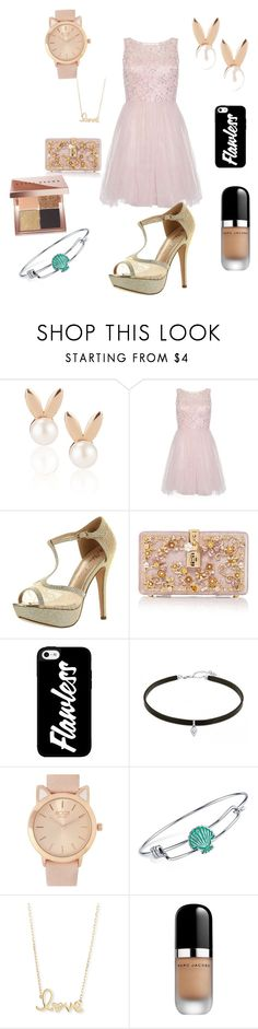 """my prom style"" by arianater ❤ liked on Polyvore featuring Aamaya by priyanka, Dorothy Perkins, De Blossom, Dolce&Gabbana, Disney, Sydney Evan, Marc Jacobs, Bobbi Brown Cosmetics and promstyle"