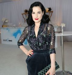 Here's What Dita Von Teese Wears Instead of Sweatpants