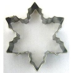 RM Snowflake Metal Cookie Cutter for Holiday Baking / Christmas Party Favors / Scrapbooking Stencil 3""