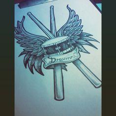 drums tattoo - Pesquisa Google