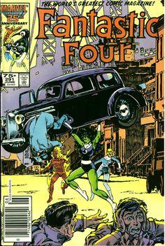 Fantastic Four #291, June 1986, cover by John Byrne