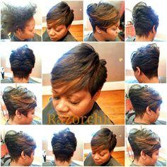 Razor Chic Of Atlanta Hairstyles Bad To The Bone  Curls They Run The World Curls  Pinterest