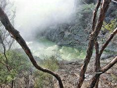 Steaming hot and probably poisoned. A small river in @waiotapu_wonderland near Rotorua in New ZealandDampfend heiß und wahrscheinnlich giftig. Einkleiner Fluss im Wai-O-Tapu Thermal Wonderland nahe Rotorua / Neuseeland.  MEIN NEUER ARTIKEL ÜBER WAI-O-TAPU IST ONLINE LINK IN BIO