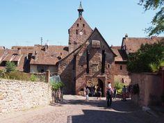 Nossa viagem a Riquewihr - Les Plus Beaux Villages de France - onde a própria cidade é o grande cartão postal turístico.