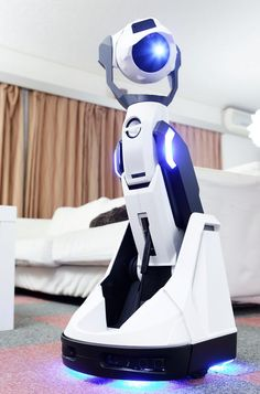 Tipron is a home robot that can automatically project an 80 inch screen from a distance of 9.8 ft(3m). He can move around your home and project content...